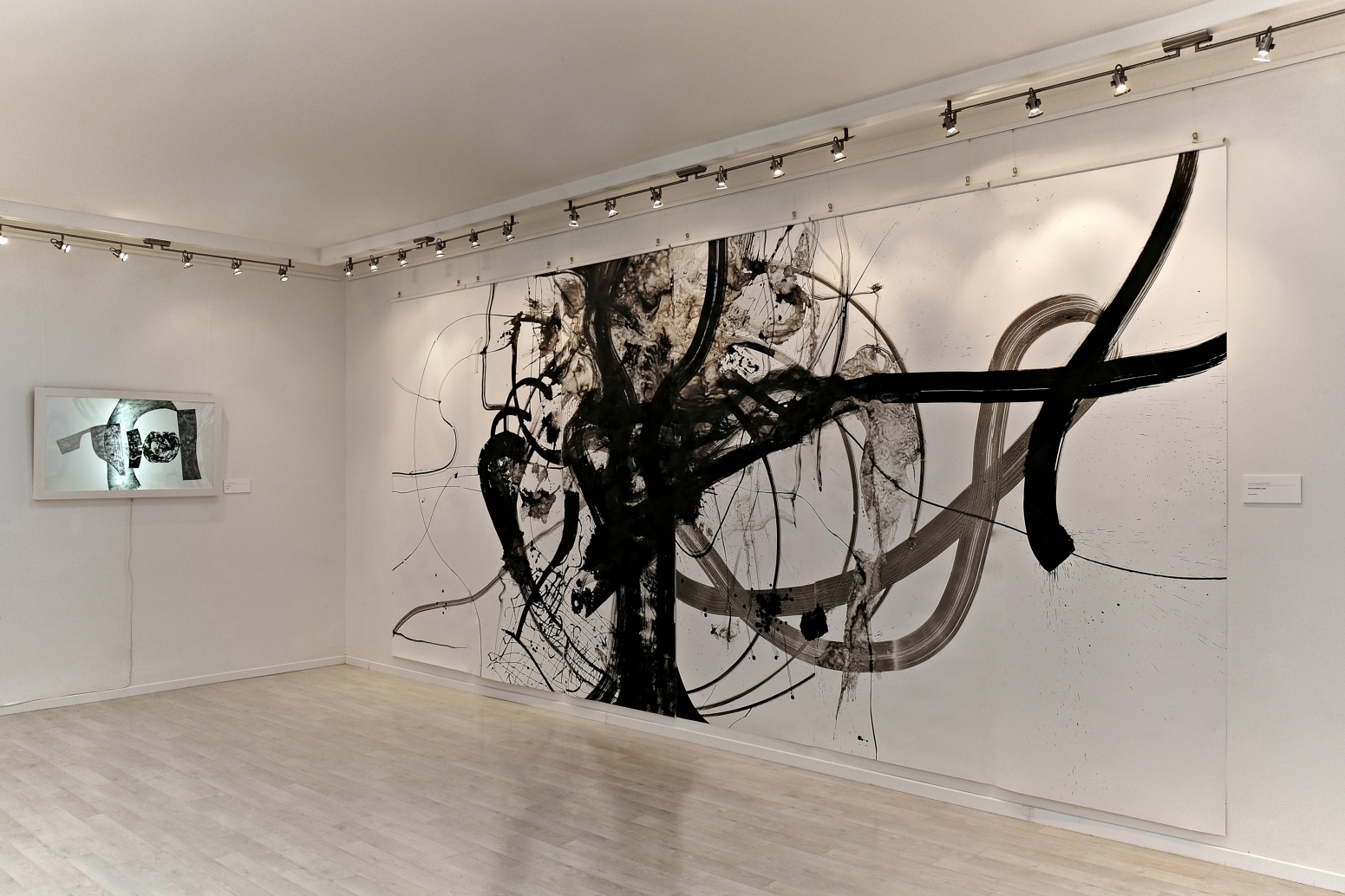 web_Ivana Gagić Kičinbači_The Story from the Beginning_Indian Ink on Paper_560 cm x 250 cm_Idealni grad Gallery_2019 (2)