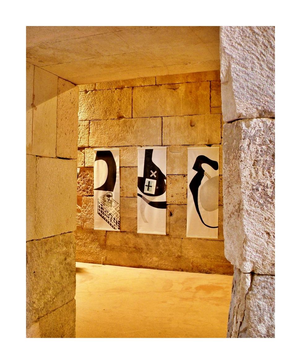 """Dialogues"", Basement Halls of Diocletian Palace, Split, Croatia"