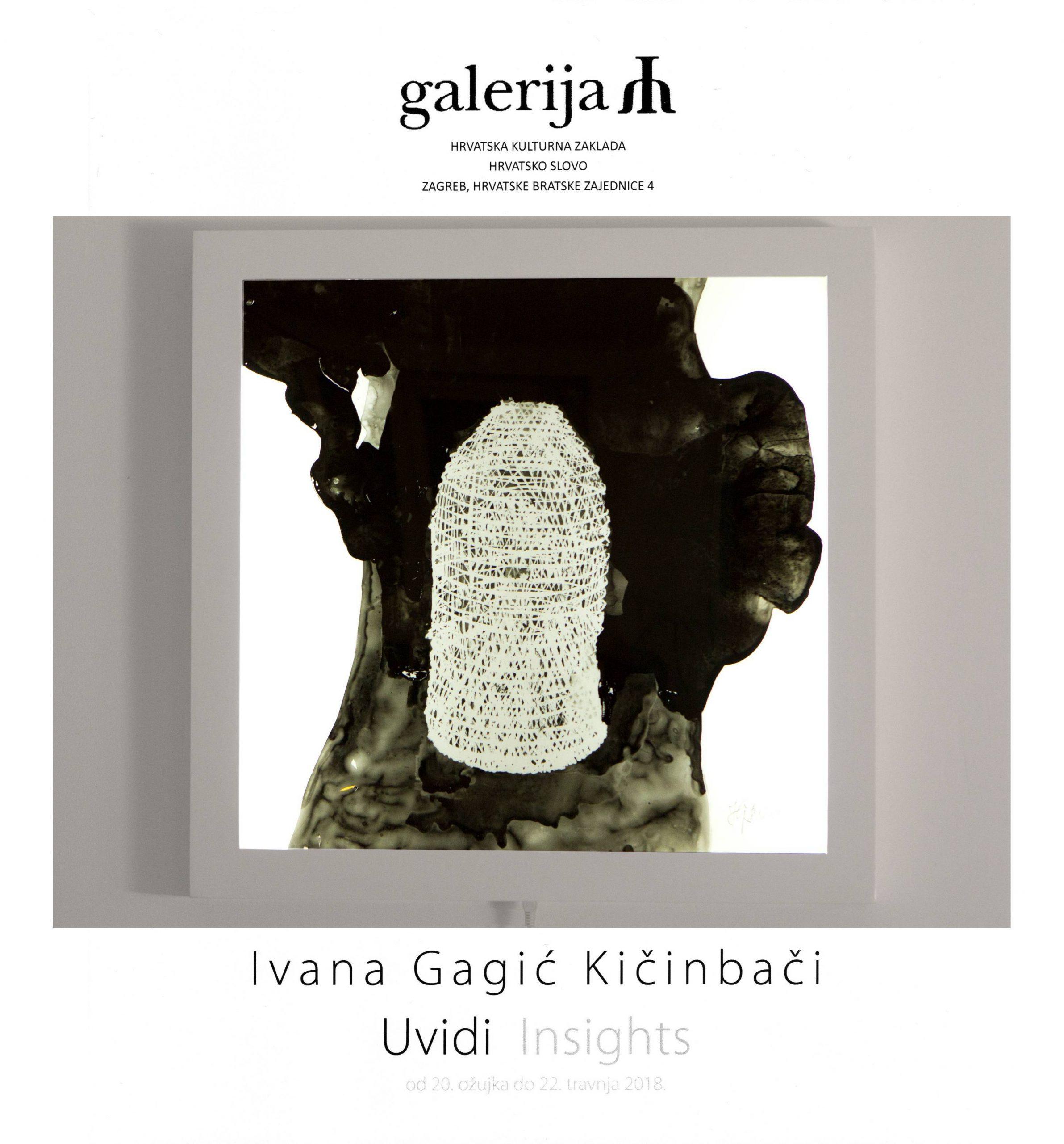 Ivana Gagic Kicinbaci_AZ Galerija_Hrvatsko slovo_2018